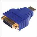 Velocity™ DVI™ to Male HDMI™ Inline Adapter