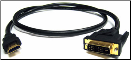 Techcraft Single Link DVI-D to HDMI Cable (Male/Male)